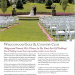 Award winning Celebration Garden at Wedgewood Golf & Country Club