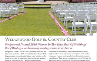 EMI Designs Celebration Garden at Wedgewood Golf and Country Club