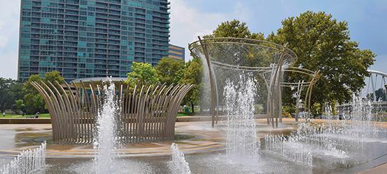 Calendar - October - Fountains