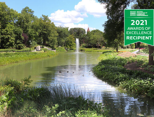 The restoration of Mirror Lake at the Ohio State University